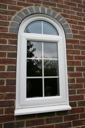 Arched uPVC Window Dorset