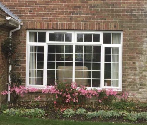 Casement Window with Georgian Bars Bournemouth